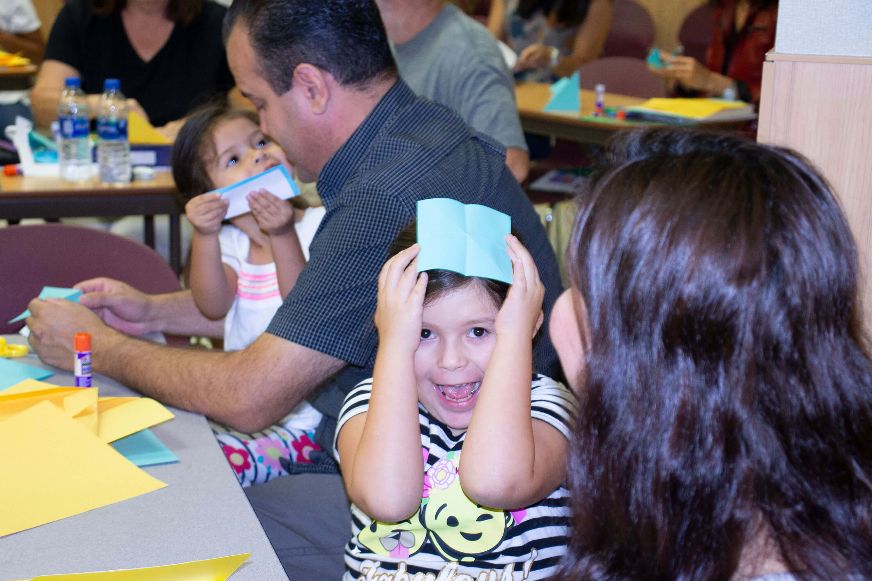 Horizon families enjoy learning during the Homeschool Success Workshop