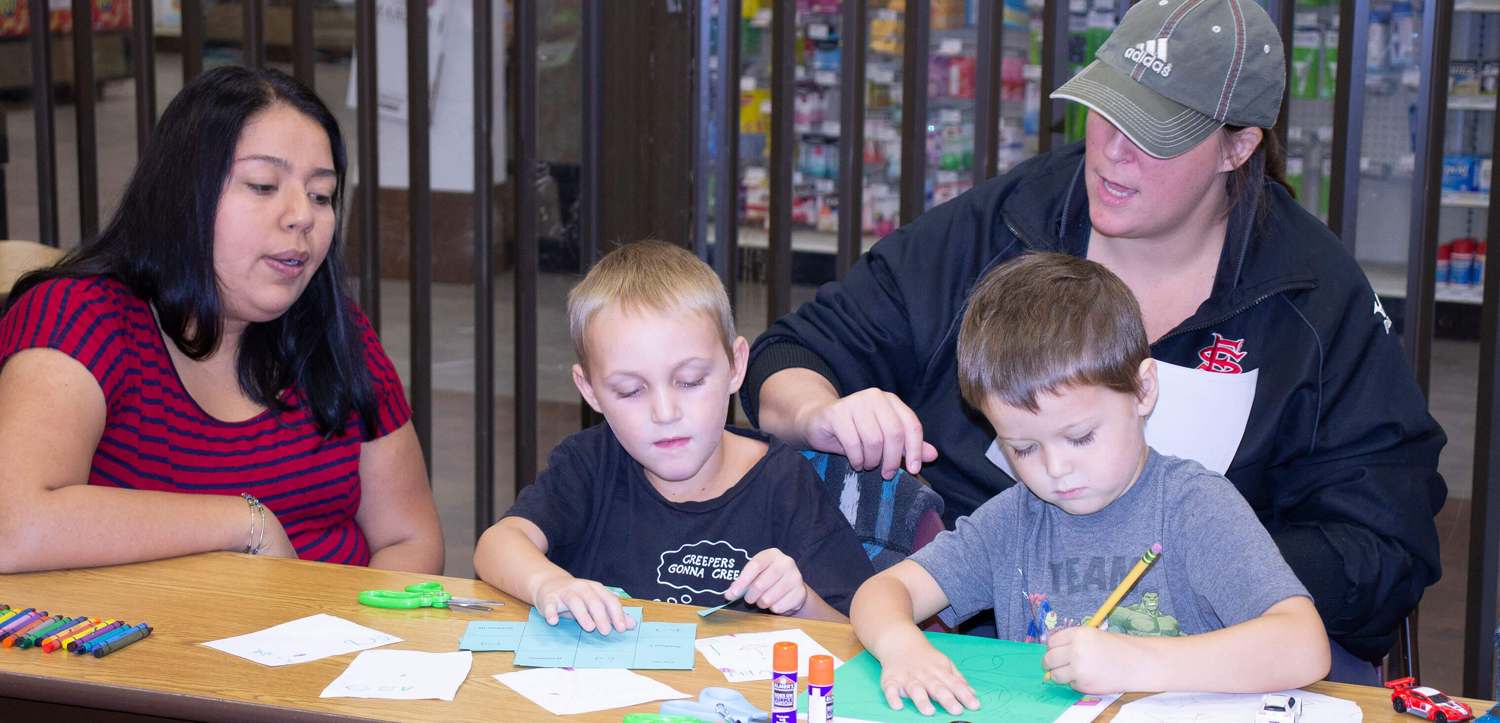 A Horizon Charter Schools' family learning