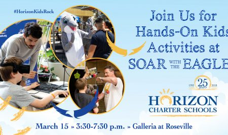 Come and SOAR with the Horizon Eagles Friday, March 15