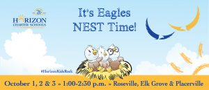 It's Horizo Charter Schools' Eagles NEST Time