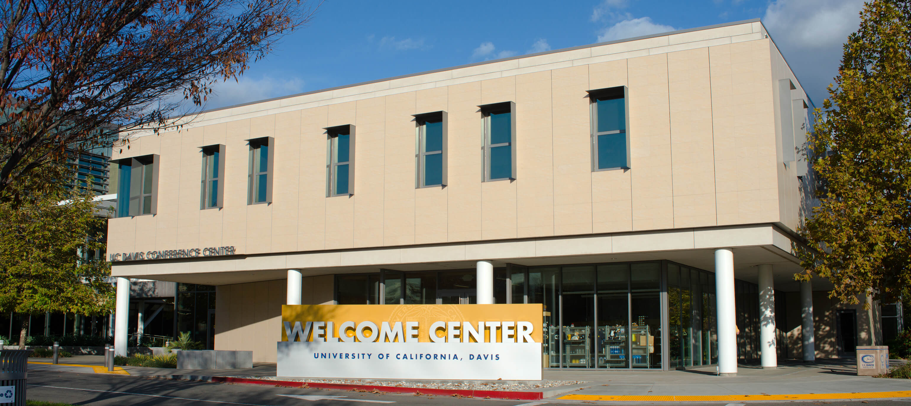 University of California at Davis Welcome Center