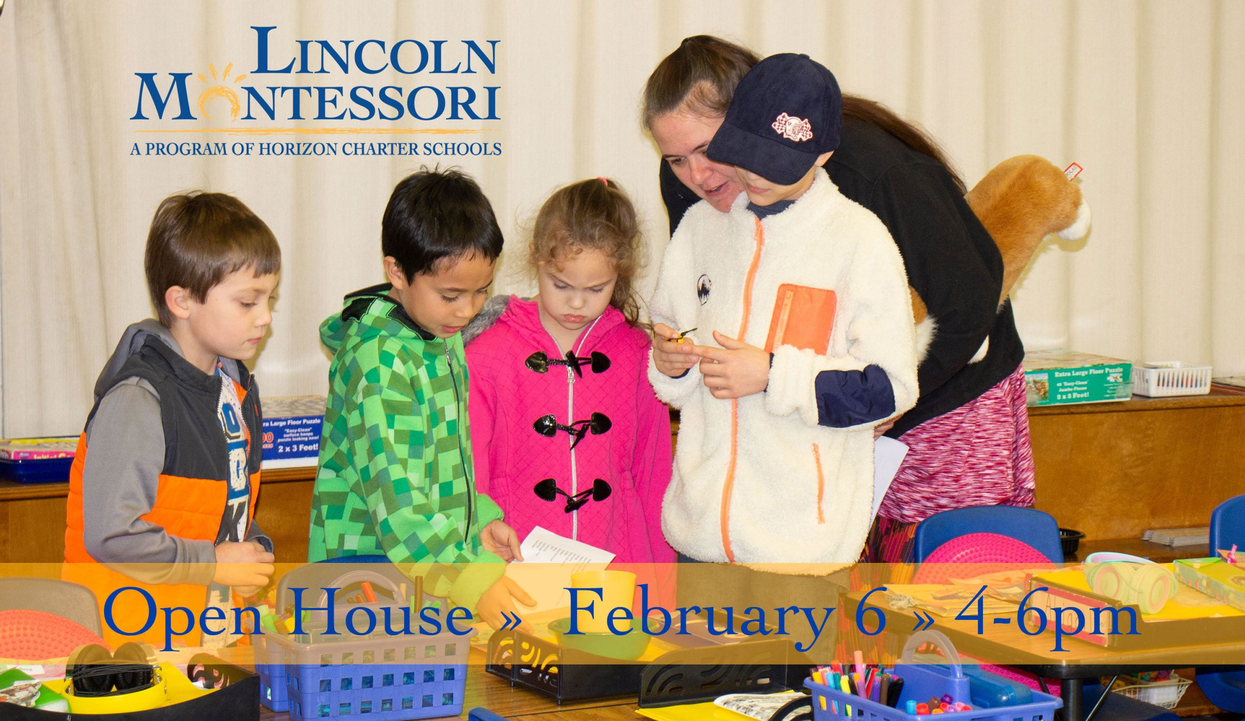 Lincoln Montessori Open House February 6, 2020