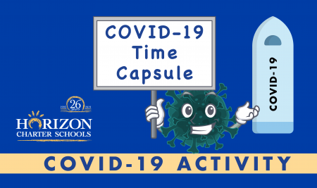 COVID-19 Time Capsule Activity for Home School Students of All Ages